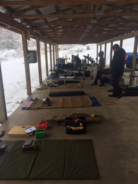 NRA Shoot in Snow