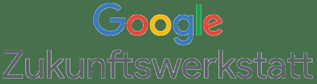 Logo der Google Zukunftswerkstatt