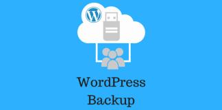 WordPress-Backup