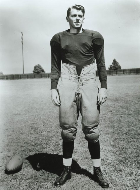 Ronald Reagan in Knute Rockne All-American (1940)