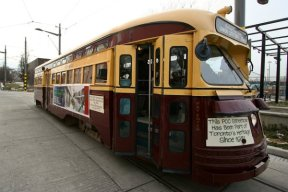 TTC President's Conference Committee heritage streetcar #4549