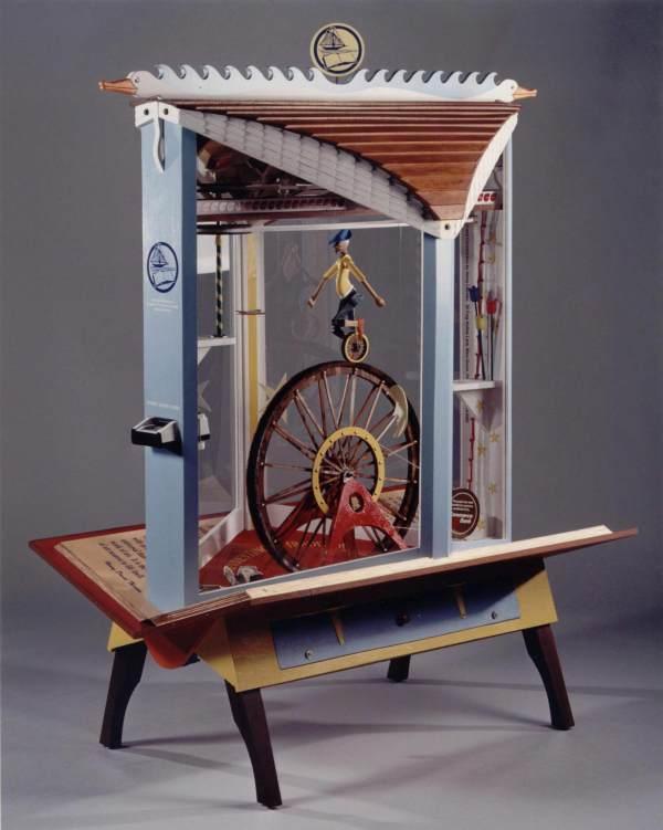 Kinetic Machine Sculpture