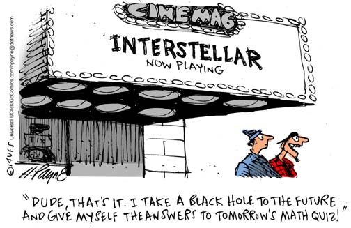 Henry Payne » Cartoon: Interstellar Math Quiz