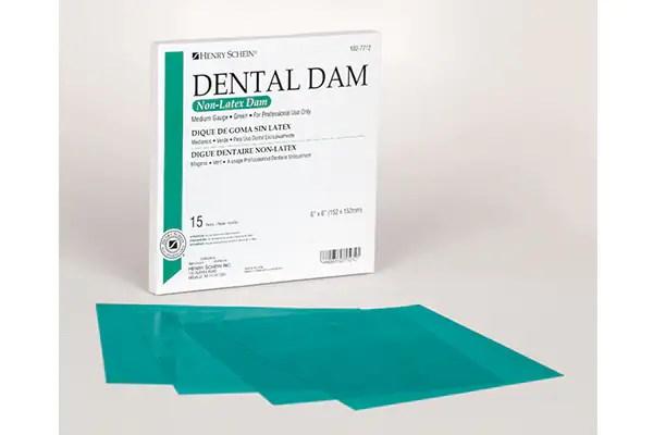 Non-Latex Rubber Dental Dam - Henry Schein Dental