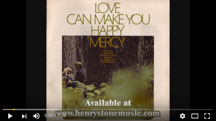mercy love can make you happy