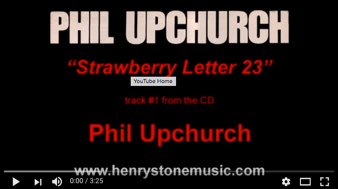 Strawberry Letter Youtube.Music Video Page 3 Henrystonemusic
