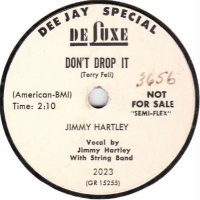 jimmy hartly dont drop it 78