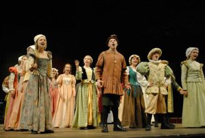 Townsfolk from Henry VIII The Musical