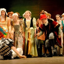 Henry VIII The Musical - crowd scene