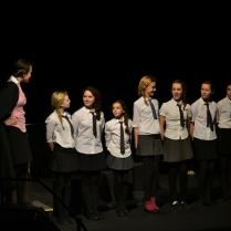 Teacher and School Children from Henry VIII The Musical