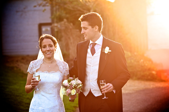 Upwaltham Barns Winter Wedding Photography