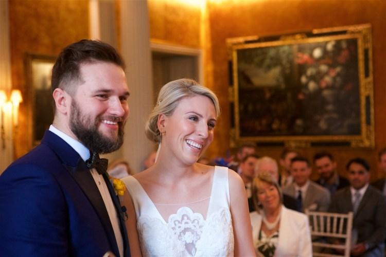 Savile Club Wedding Photography - Emma & Jack 12