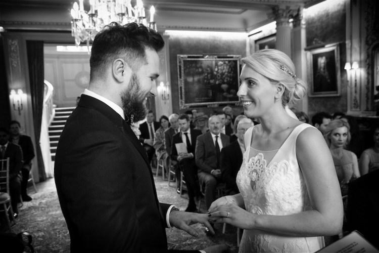 Savile Club Wedding Photography - Emma & Jack 14