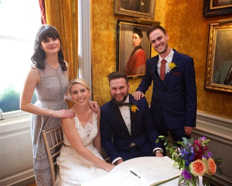 Savile Club Wedding Photography - Emma & Jack 17
