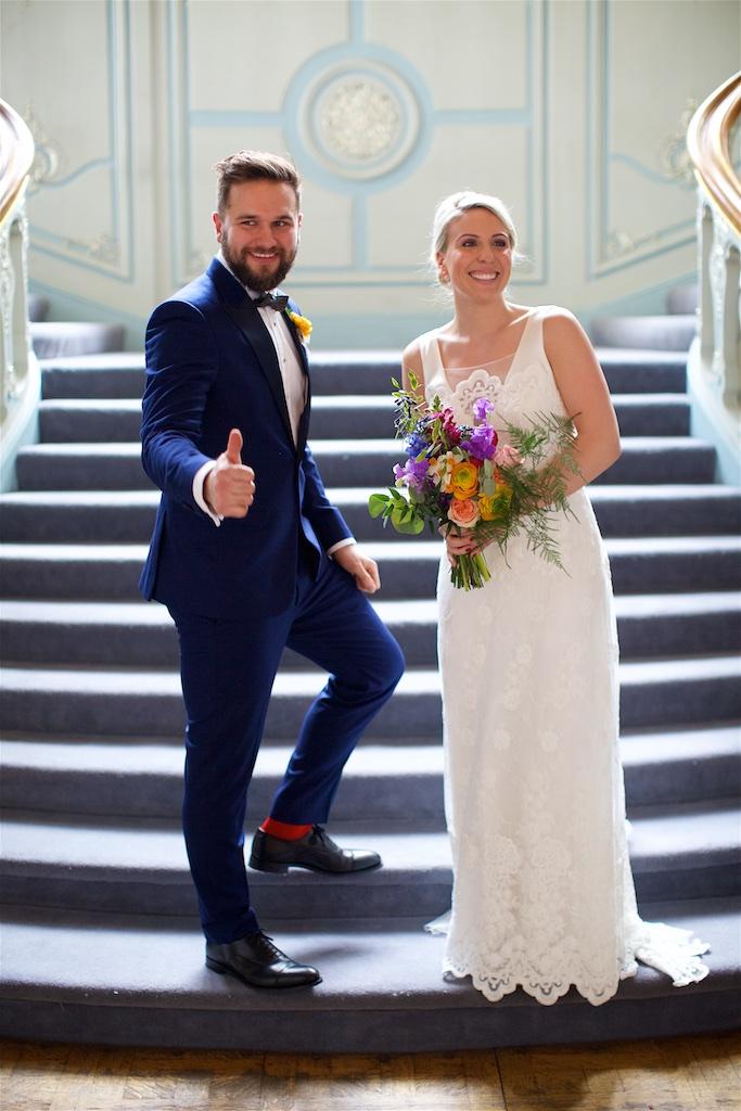 Savile Club Wedding Photography - Emma & Jack 23