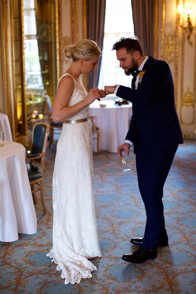 Savile Club Wedding Photography - Emma & Jack 33