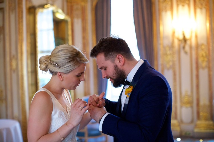 Savile Club Wedding Photography - Emma & Jack 34