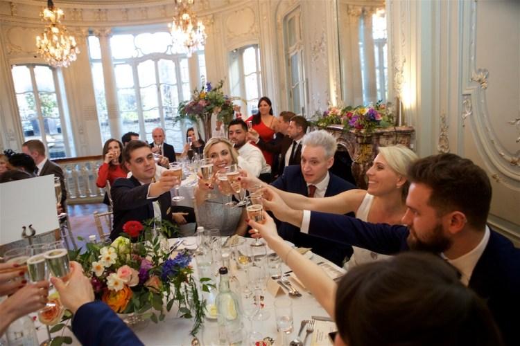 Savile Club Wedding Photography - Emma & Jack 44
