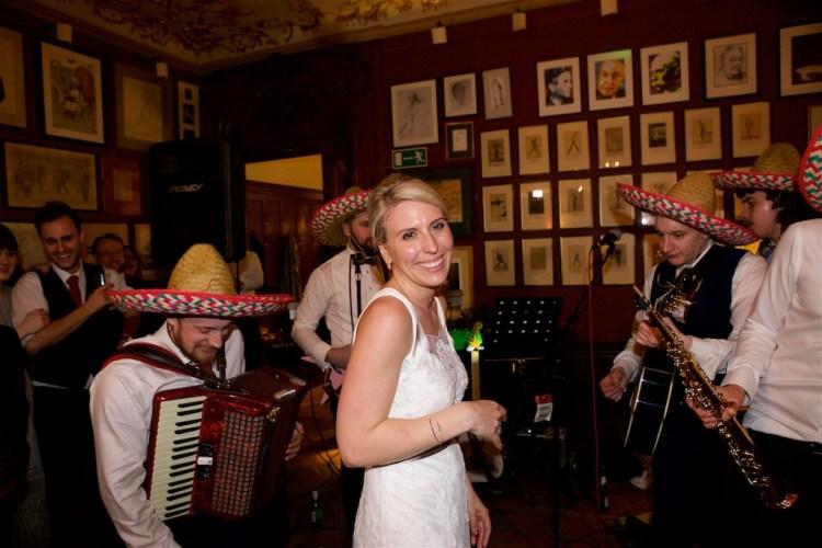 Savile Club Wedding Photography - Emma & Jack 52