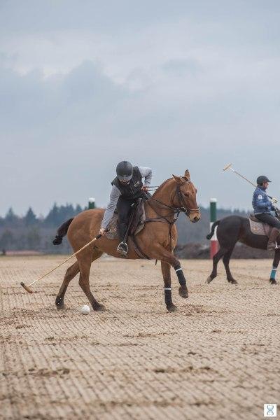 Maurtymer avec Celtica au Polo-Club d'Apremont