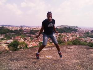 At Olumo Rock Ogun State