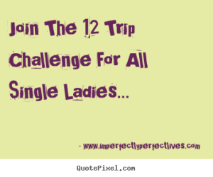 join the 12trip challenge on www.imperfectlyperfetlives.com