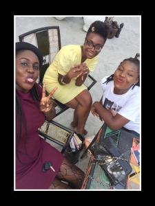 Adanna, Amaka and me!