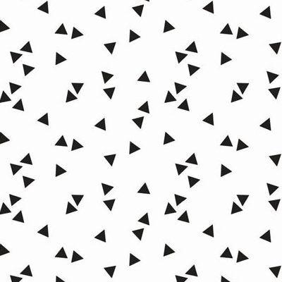 Dekbedovertrek zwart wit Heppie black Heppieroom