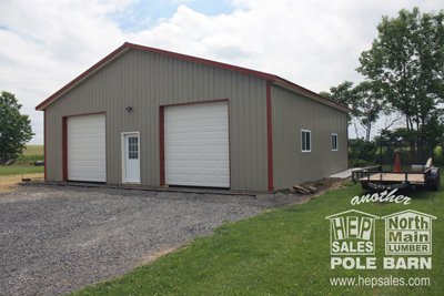 medium resolution of pole barns are easy to construct you can build it yourself from our kit or we can build it for you pole barn construction can be done in a week