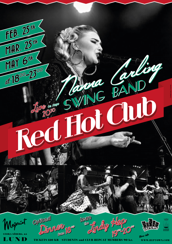 Red Hpt Club poster spring 2019