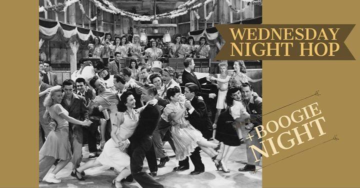 Wednesday Night Hop & Boogie Woogie Night 18/9