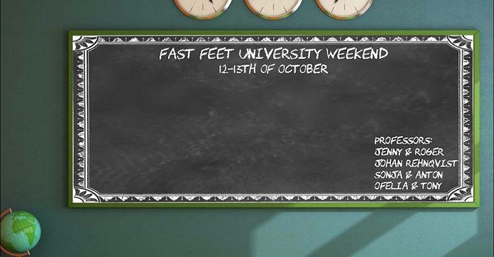 Fast Feet University Weekend
