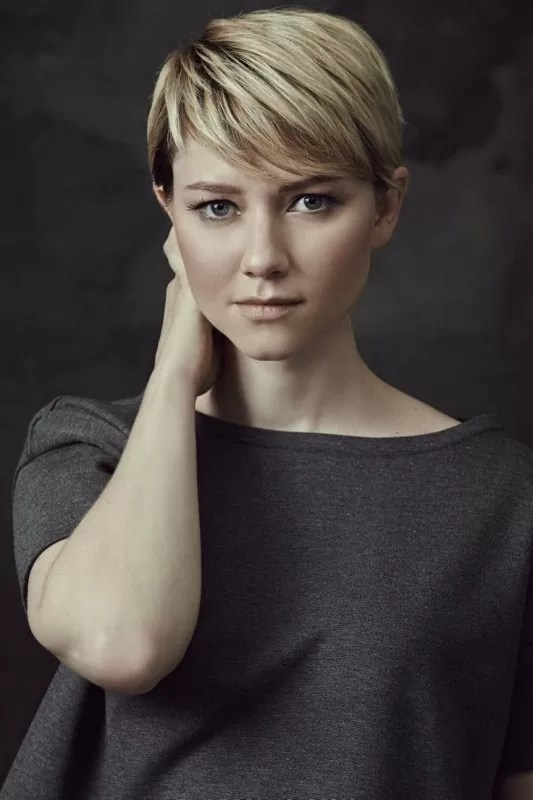 Valorie Curry Pixie Haircut