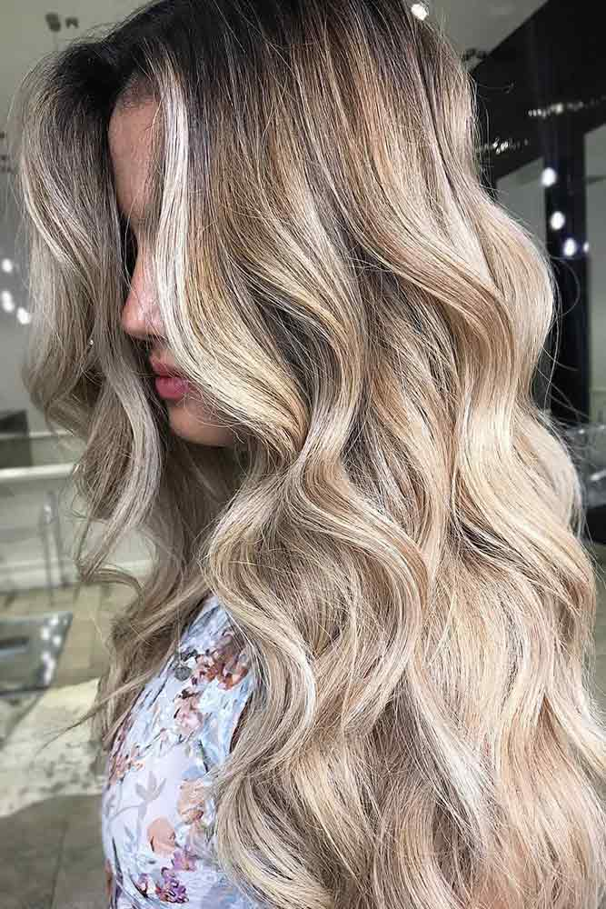 dirty-blonde-hair-styles-long-wavy-brunette-roots-highlights