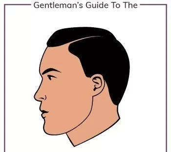 Side Part Hairstyle mens haircuts