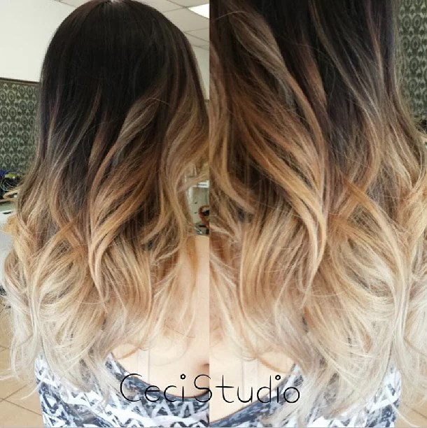 Gorgeous Dark-To-Light Ombre Style