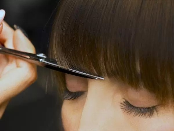 How To Trim Your Fringe At Home