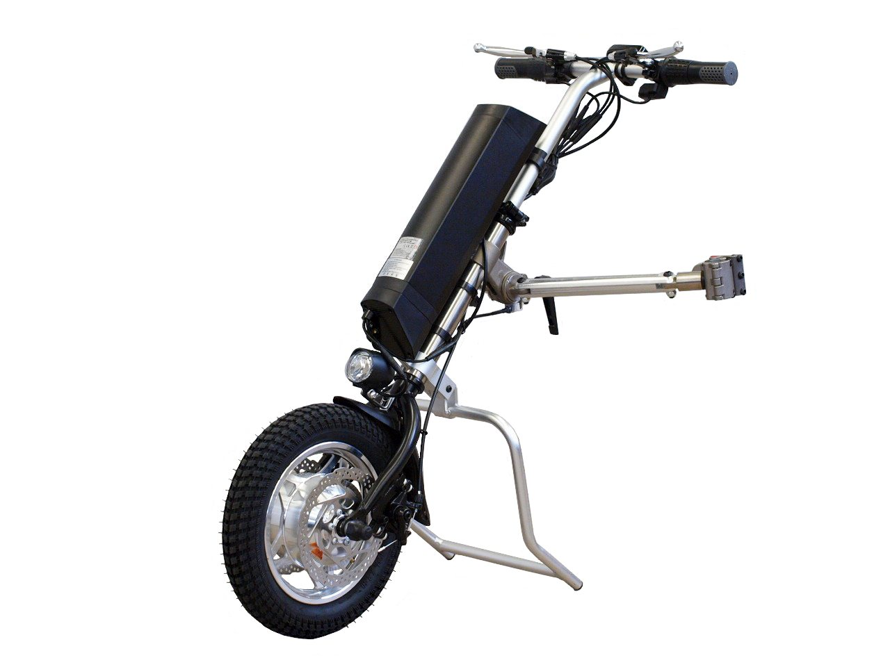 wheelchair trailer bouncy chair accessories 250w designed to turn hand driven