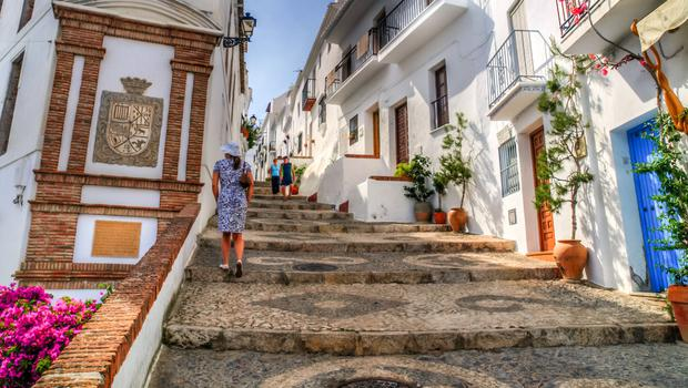 The mountaintop village of Frigiliana is a must-see