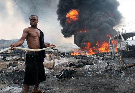 gas explosion