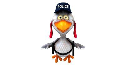 chicken-police