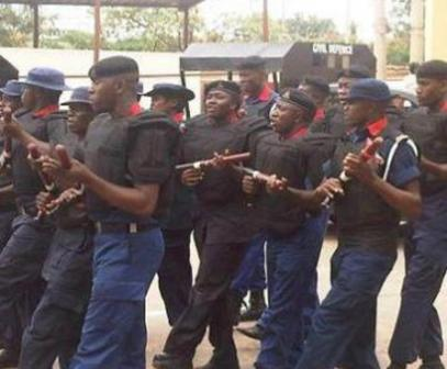 Nigeria Security Civil Defence Corps Nscdc Or Local Government Elections Enugu State
