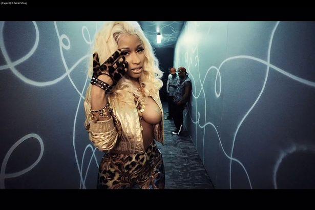 Nicki Minaj scary 2