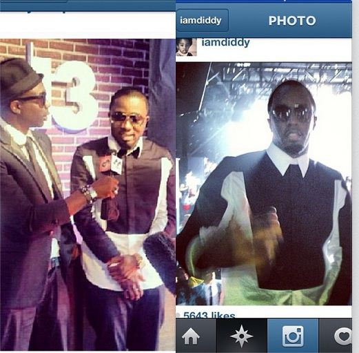 Ice Prince and Diddy Pop Off Central