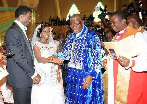 president jonathan's daughter's wedding