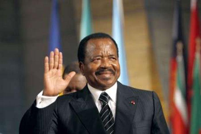 Cameroonian President, Paul Biya