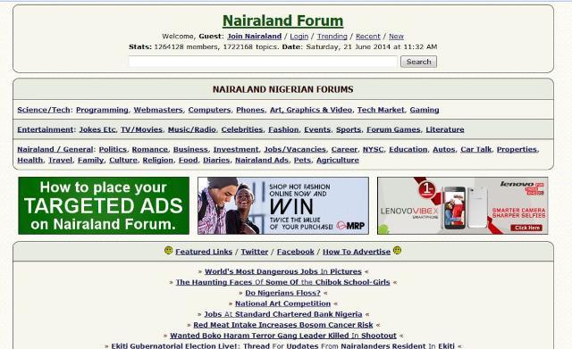 Online dating Nairaland