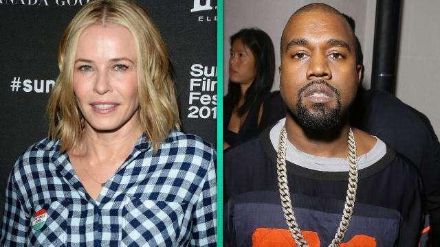 Kanye and Chelsea Handler