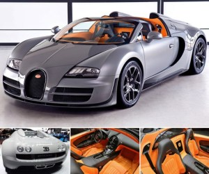 2012 Bugatti Veyron Grand Sport Vitesse; top car design rating and specifications