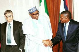 Buhari and Dangote